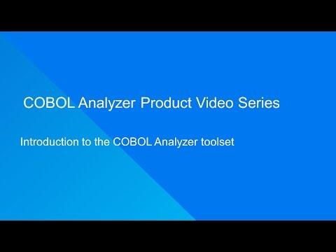 COBOL Analyzer: Introduction