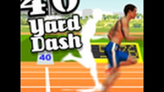 WHY WONT YOU WORK:40 Yard Dash Online Game