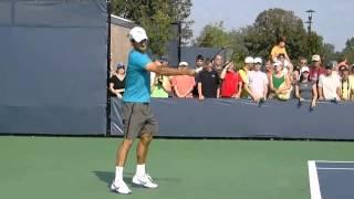 Federer. Удар справа.