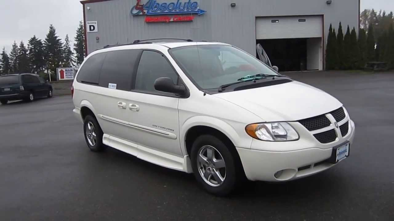 2003 dodge grand caravan white stock 123422 walk. Black Bedroom Furniture Sets. Home Design Ideas