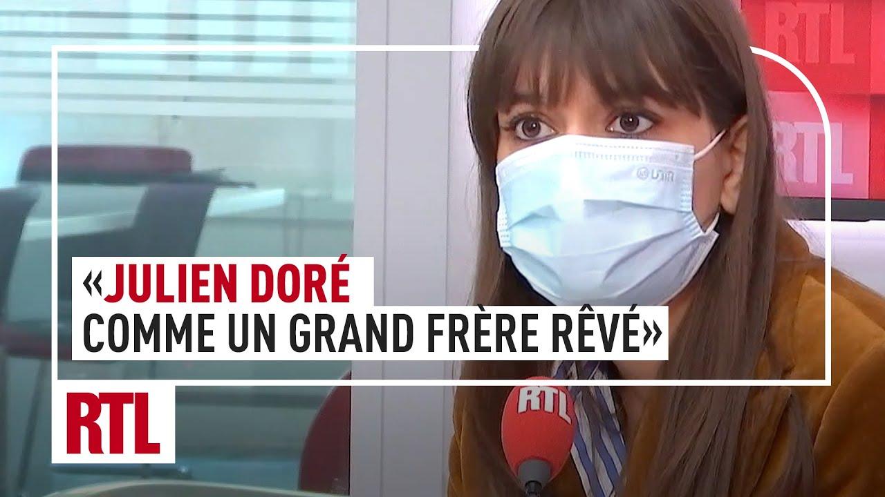 """CLARA LUCIANI : """"Julien Doré, comme un grand frère rêvé"""""""