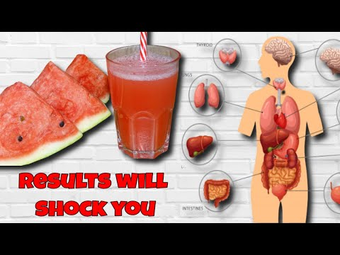 Health benefits of watermelon seeds Boil them and the results will shock you