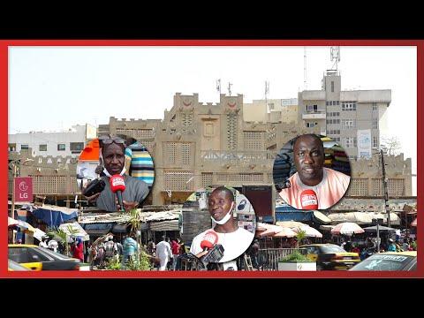 Démolition du marché Sandaga : les commerçants ne comptent pas quitter et menaces...