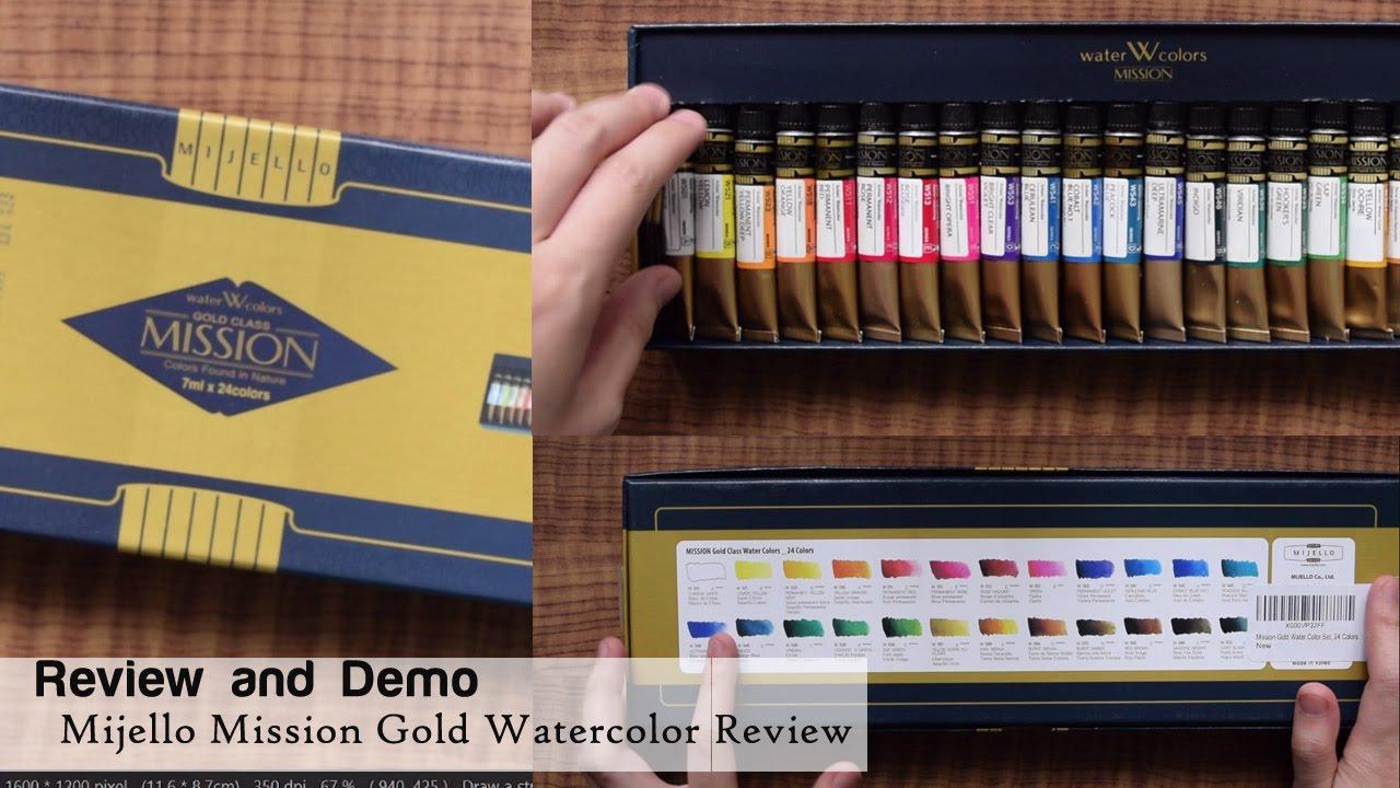 Mijello Mission Gold Water Color Set