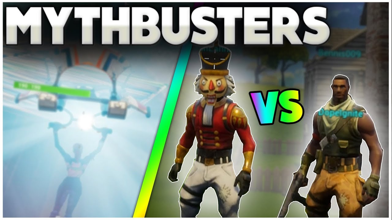 Do Skins Change Hitboxes Boogiebomb Someone While Gliding Fortnite Mythbusters 8