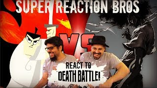 SRB Reacts to Samurai Jack VS Afro Samurai DEATH BATTLE!