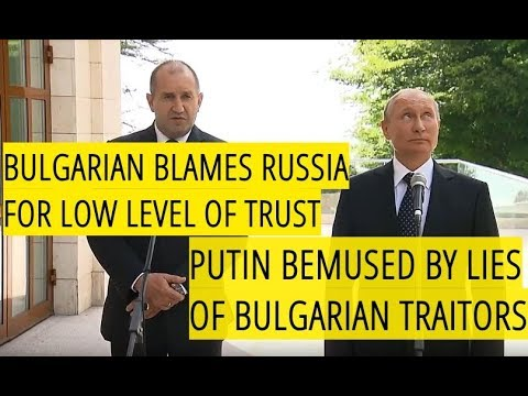 Bulgarian President Blames Putin: Russia Stopped Projects in Bulgaria Because of EU & NATO