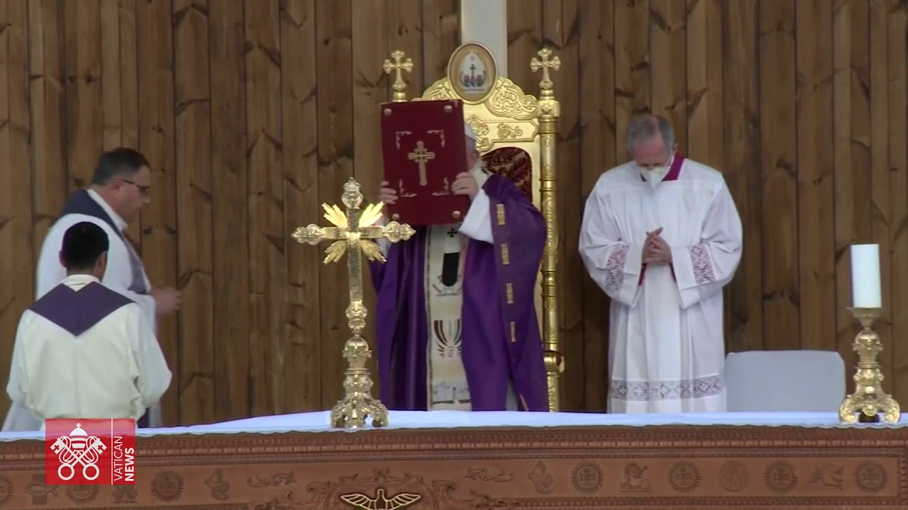 The Church in Iraq is alive': Pope Francis at Mass in Erbil - Vatican News