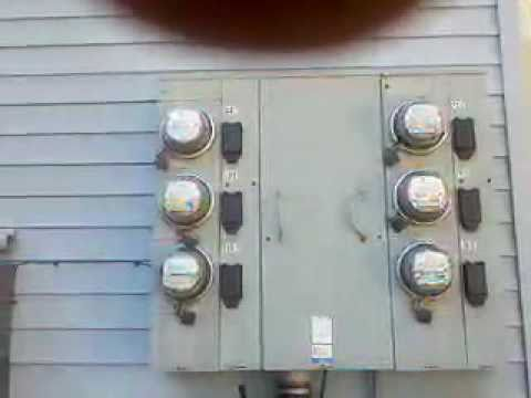 Buck Parrish 6 Unit Apt Meter Base Youtube
