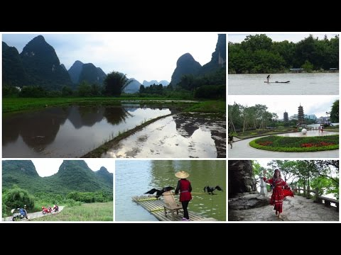 Yangshuo and Guilin in 3 and a half minutes