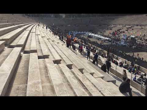 Athens Marathon - Panathenaic Stadium (Kallimarmaro) - first Olympics Stadium, Athens, Greece