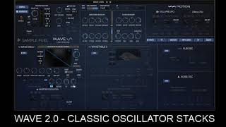 WAVE 2 0 Classic Oscillator Stacks
