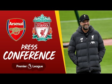 Jürgen Klopp's pre-match press conference | Arsenal