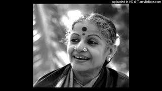 Ms Subbulakshmi-ranga Puravihara-brindhavanasaranga-rupakam-dikshitar