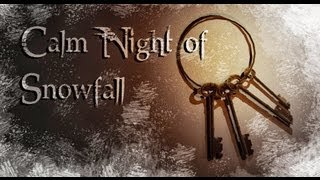 Calm Night of Snowfall Survival Horror Indie Game