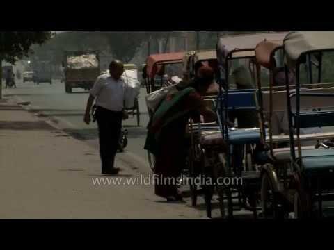 No autos, only rickshaws outside Delhi Metro stations