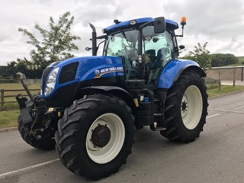 New Holland T7 185 Tractor