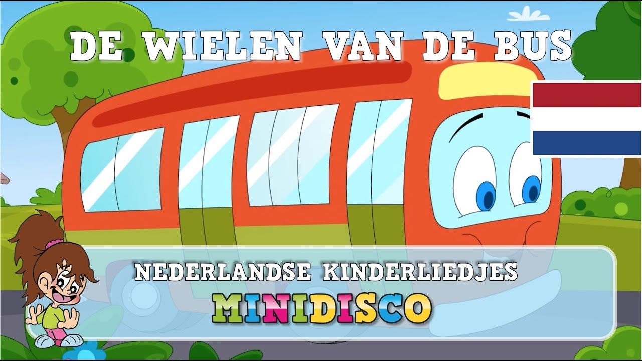 De Wielen Van De Bus Kinderliedjes Tekenfilm Liedjes Voor