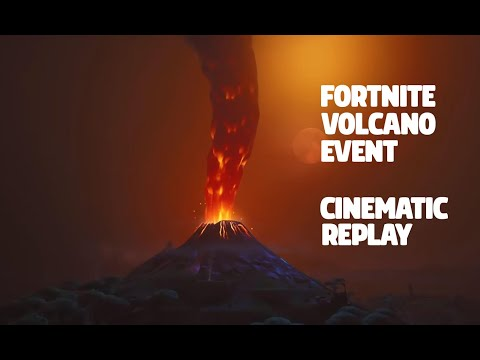 Fortnite Eruption Event Cinematic Replay [FULL]