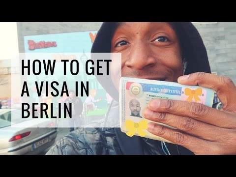 How to get a visa in Berlin | Berlin Stand-up Comedy