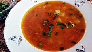 ВЫРУЧИТ ВСЕГДА 😉суп из кильки в томатном соусе
