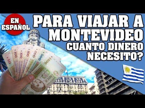 CUANTO DINERO LLEVAR POR DIA Y POR PERSONA PARA TUS VACACIONES A MONTEVIDEO, URUGUAY 2018