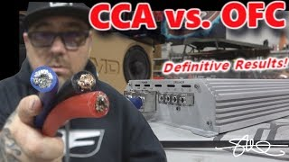 CCA vs. OFC 1/0 Power Wire - Is Cheaper just as good? Definitive Results