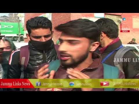 BSC nursing students stage protest in Kashmir, demand declaration of results