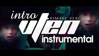 VTEN - INTRO Instrumental (Karaoke With Lyrics) || Original Remake Beat || Nepali Hip-Hop Rap Song