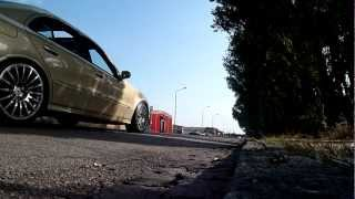 Mercedes E420 CDI drive bys - V8 diesel straight pipe exhaust