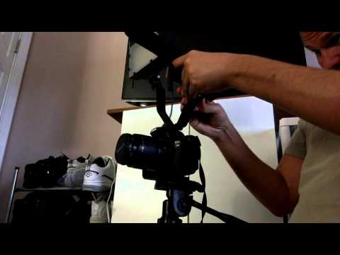 Fancierstudio Dual Mount Bracket for Video Lights and Microphones on Camcorder