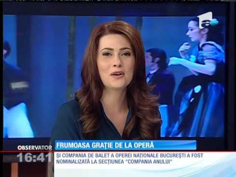 """Balerina Marina Minoiu, nominalizată de celebra revistă """"Dance Europe"""""""