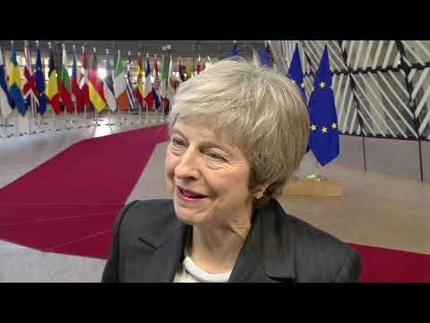 Brexit .- Theresa May talks about  Brexit and on her future as the leader of the Conservative Party