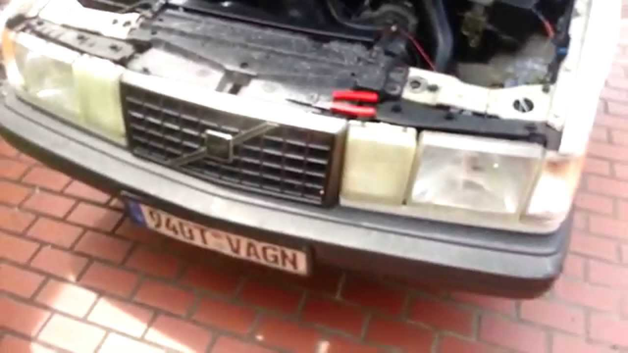 AC Exploded - 1993 Volvo 940 Turbo Wagon - YouTube