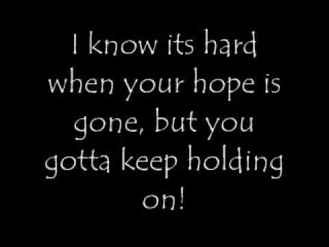 Hold On-with lyrics