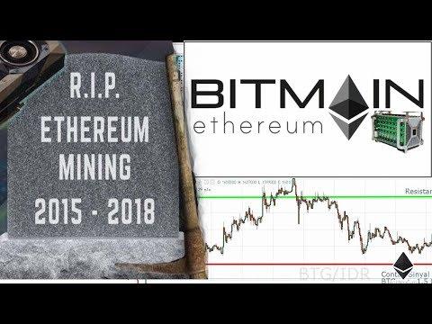 Apakah Mining ETH GPU Akan Mati ? – Ethereum ASICs Coming Soon, Mining Bitcoin