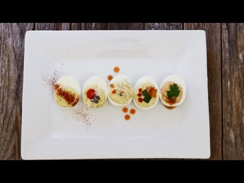 How to Make Healthy Deviled Eggs 5 Ways