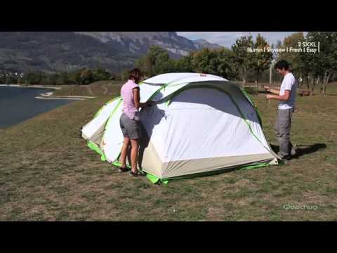 e808e18a8 Quechua Tenda campeggio 2 seconds xxl illumin fresh. Decathlon Gioia Tauro