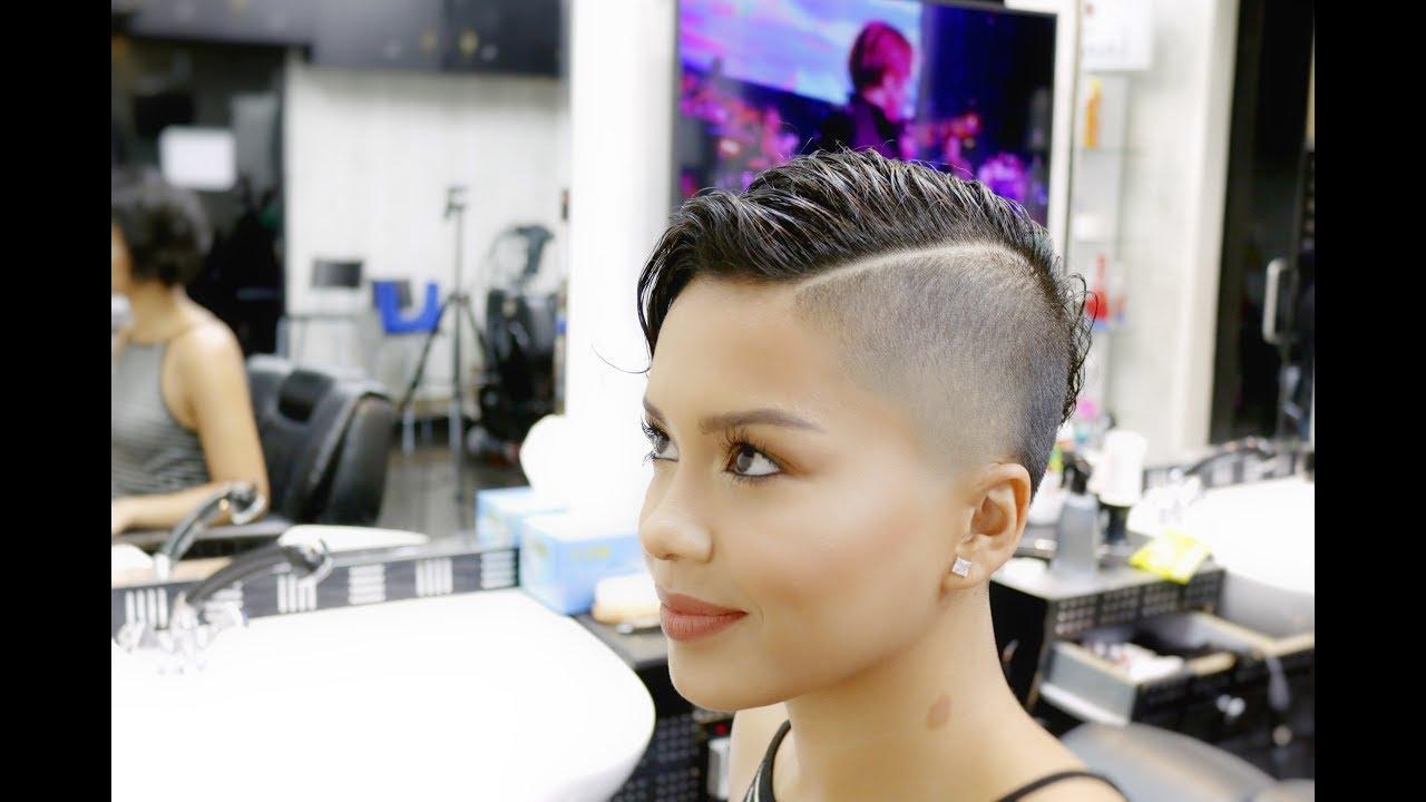 gorgeous hairstyle women fade