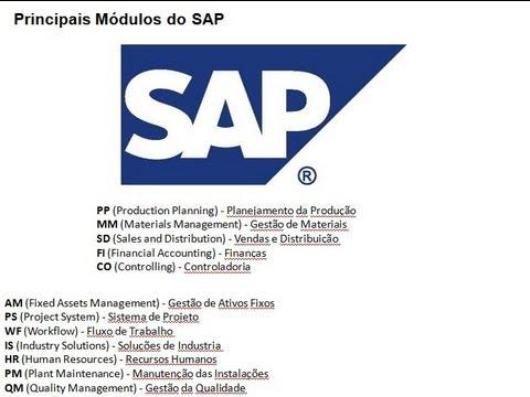 SAP Parte 1 - O que é, Módulos e Niveis Organizacionais