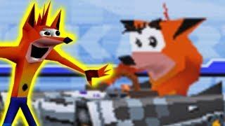 Mario Kart DS Deluxe Star Cup - Crash Bandicoot Gameplay