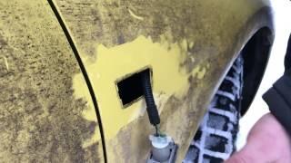 Демонтаж повторителя поворота на Opel Astra GTC J