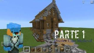 minecraft medieval casa