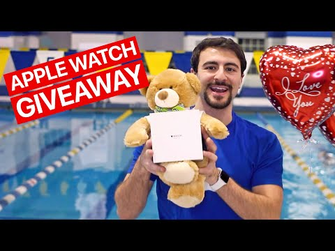 Why Do You Love Swimming? Apple Watch Giveaway!