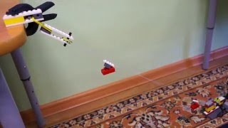 Канатная дорога из Lego WeDo