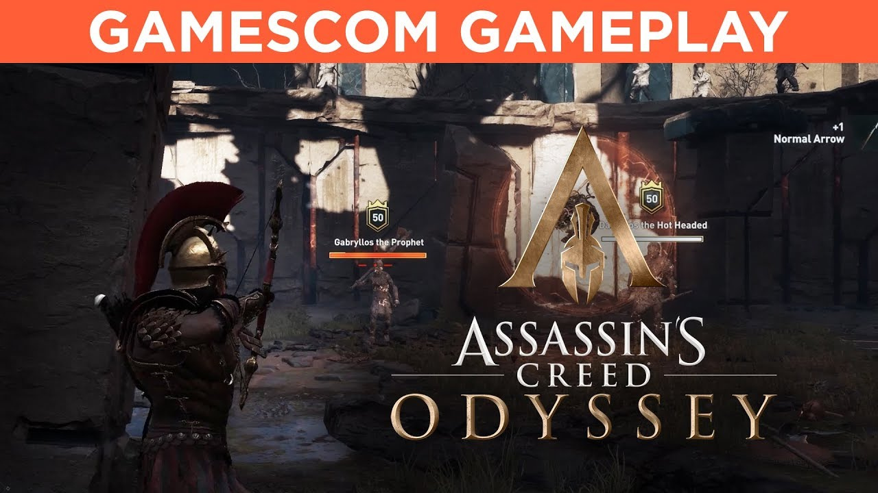 Assassin S Creed Odyssey Gamescom Gameplay Youtube