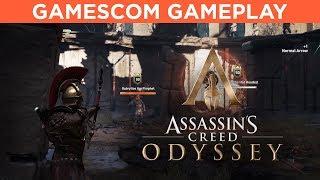 Assassin's Creed Odyssey GAMESCOM GAMEPLAY