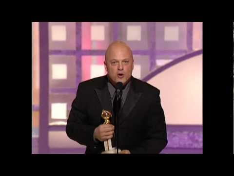 Michael Chiklis Wins Best Actor TV Series Drama - Golden Globes 2003