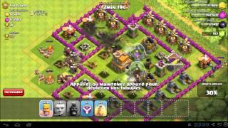 Clash of clans: Attaque multi - Du géant et encore du géant