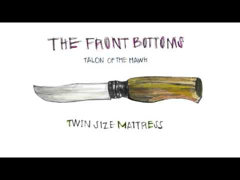 The Front Bottoms Twin Size Mattress (Official)